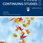 Continuing Studies Fall 2010 Calendar