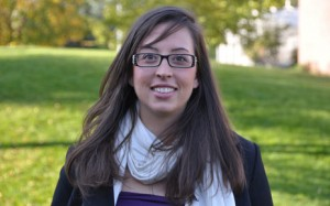 Erica Triggs, new Alumni and University Relations Events and Promotions Assistant