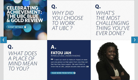 The 2009-2010 UBC Annual Review