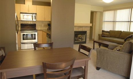 University Townhomes available to faculty and staff