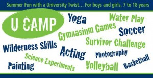 What will your child choose to do at UBC this summer?