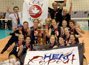 Heat women's volleyball team named Kelowna's Team of the Year