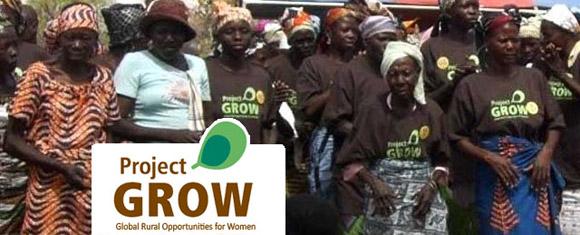 Follow Project GROW on the go in Ghana