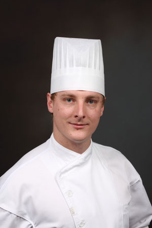 Mathew Morazain, Culinary Director for ARAMARK's Food Services at UBC's Okanagan Campus