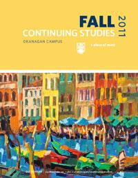 Continuing Studies Fall Calendar