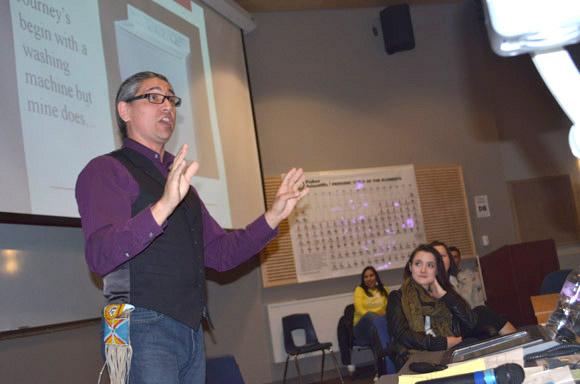 Keynote speaker Robert Pictou