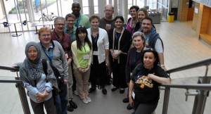 This year's International Counsellor Tour delegation who are visiting both UBC campuses this week