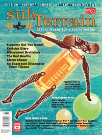 Issue 61 of subTerrain magazine