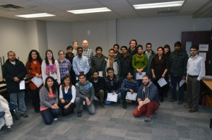 Students from numerous faculties were presented with the Credentialing Foundations Certificate on December 11