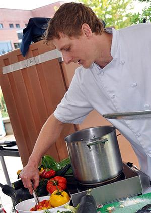 Chef Mathew Morazain