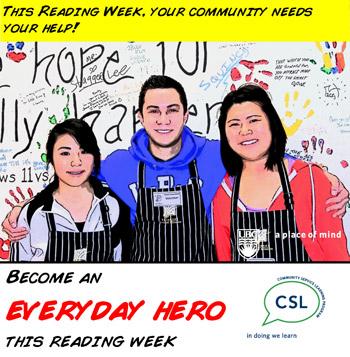 Reading Week Volunteers