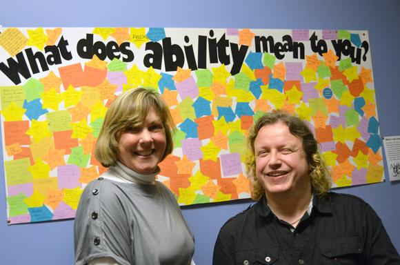 Cindy Bourne and Jess Roebuck