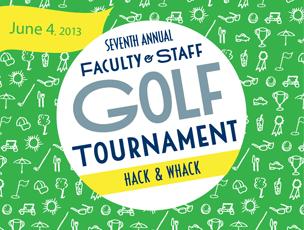 Hack & Whack Golf Tournament 2013