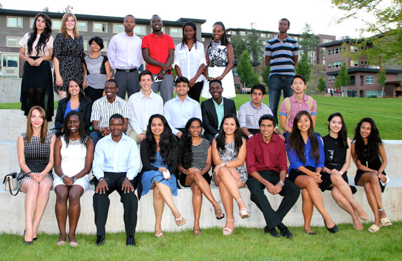 In attendance at the International Student Awards Dinner on September 12 were incoming and current UBC International Scholars, 2013 International Major Entrance Award recipients and the 2013 International Community Achievement Award recipients.