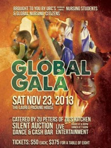 Nursing students help promote health in Africa with Global Gala fundraiser