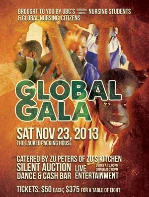 Global Gala 2013 poster