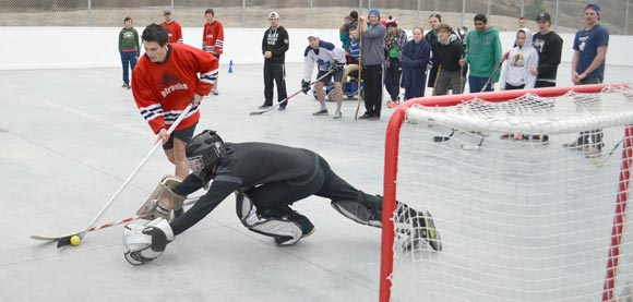 Multi Sport Court A Hit At Ball Hockey Tournament