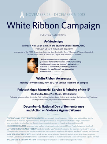 White Ribbon Campaign 2013