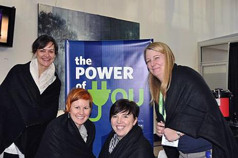 Jennifer Novy, Shauna Oddleifson, Melissa McHugh and Cara Kirkey