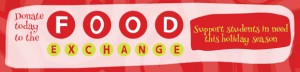 Food Exchange drive on now