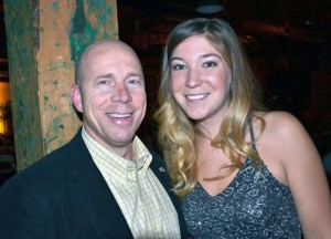 Kelowna-Lake Country Member of Parliament Ron Cannan and Global Gala organizing committee member Michelle Bolen.