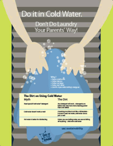 Do It In Cold Water campaign poster