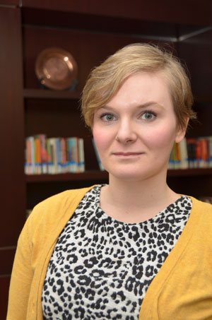 Erin Menzies, learning services librarian