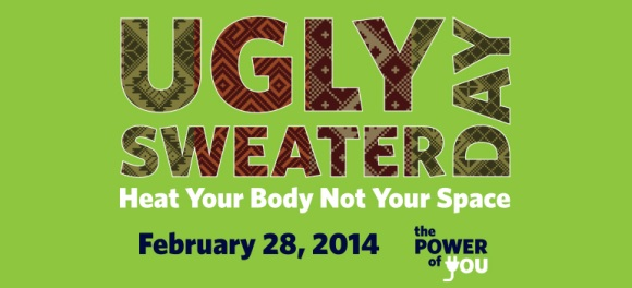 Ugly Sweater Day graphic