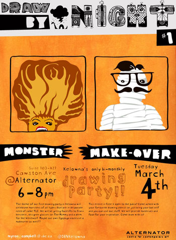 Draw By Night: Monsters Makeover