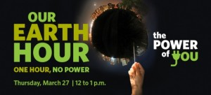Earth Hour challenge: one hour, no power