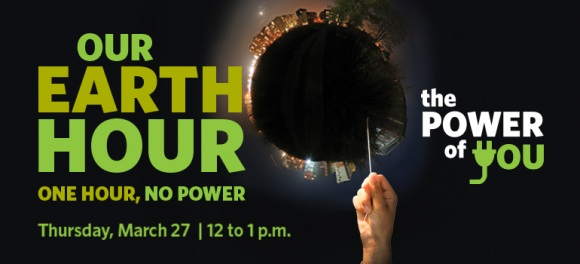 Earth Hour 2014 challenge: one hour, no power