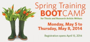 Centre for Scholarly Communication offers spring training bootcamp