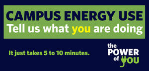 Campus energy survey closing April 17