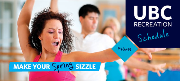 UBC Recreation Group Fitness -- spring 2014