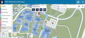 Interactive maps make it easier to  navigate campus