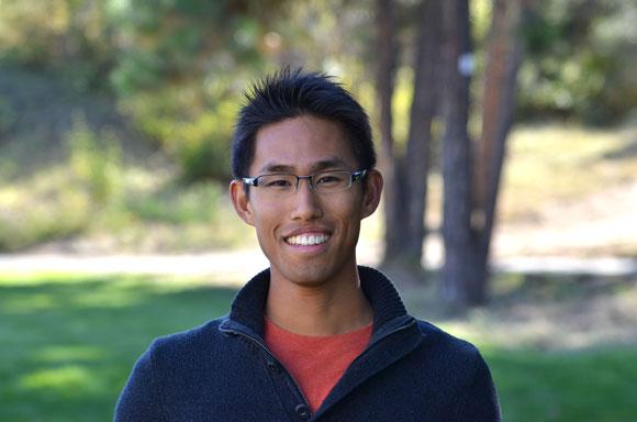 Engineering graduate student Adam Lee