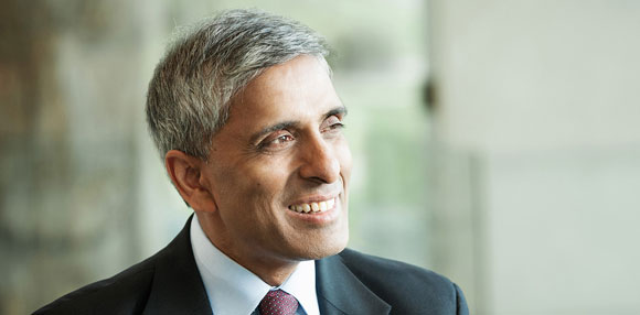 Professor Arvind Gupta, 13th President and Vice-Chancellor of The University of British Columbia.