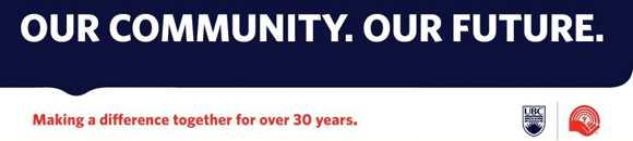 Our Community Our Future United Way graphic
