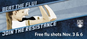 Beat the flu! Join the resistance. Get the flu shot.