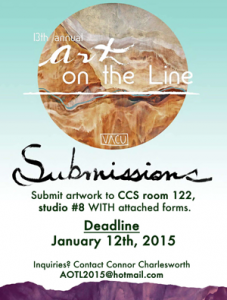 Call for submissions: Art on the Line
