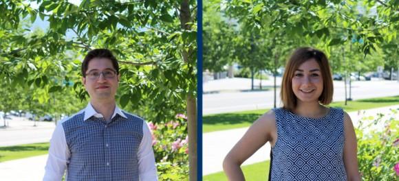 Graduate Student Jumpstart Coordinators Mahsa Haghjoo and Moein Ahmadipour