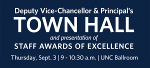 Sept. 3 DVC and Principal's Town Hall