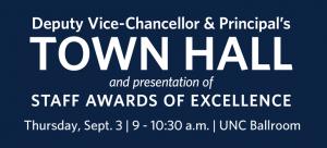 Sept. 3 DVC and Principal's Town Hall