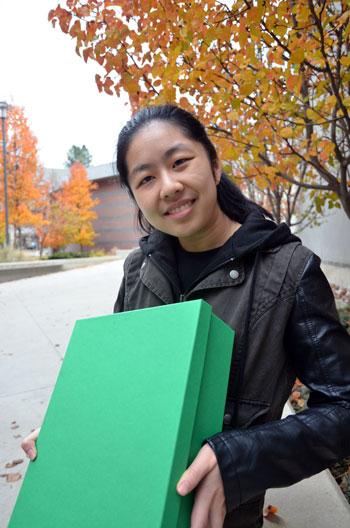 Second-year Creative Writing student Elisa Ip.