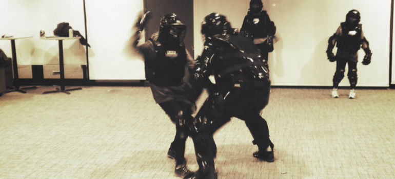 Rape Aggression Defense (RAD) training image