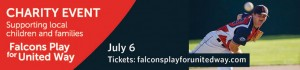 Falcons Play for United Way on July 6