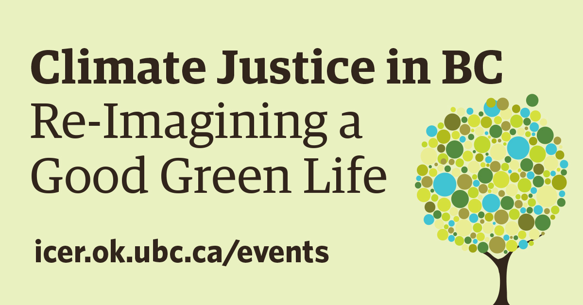 Graphic for Imagine a Good Green Life