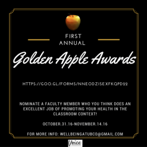 Golden Apple Awards launched this week