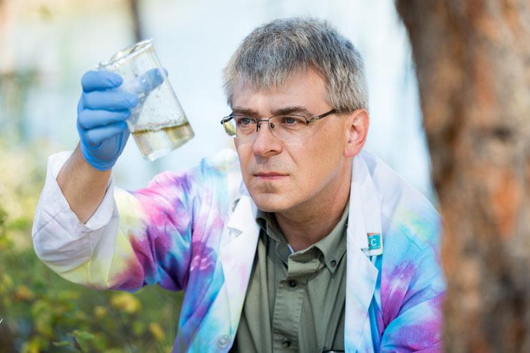 Stephen McNeil, associate professor of chemistry