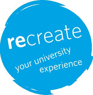 ReCreate winter student orientation logo